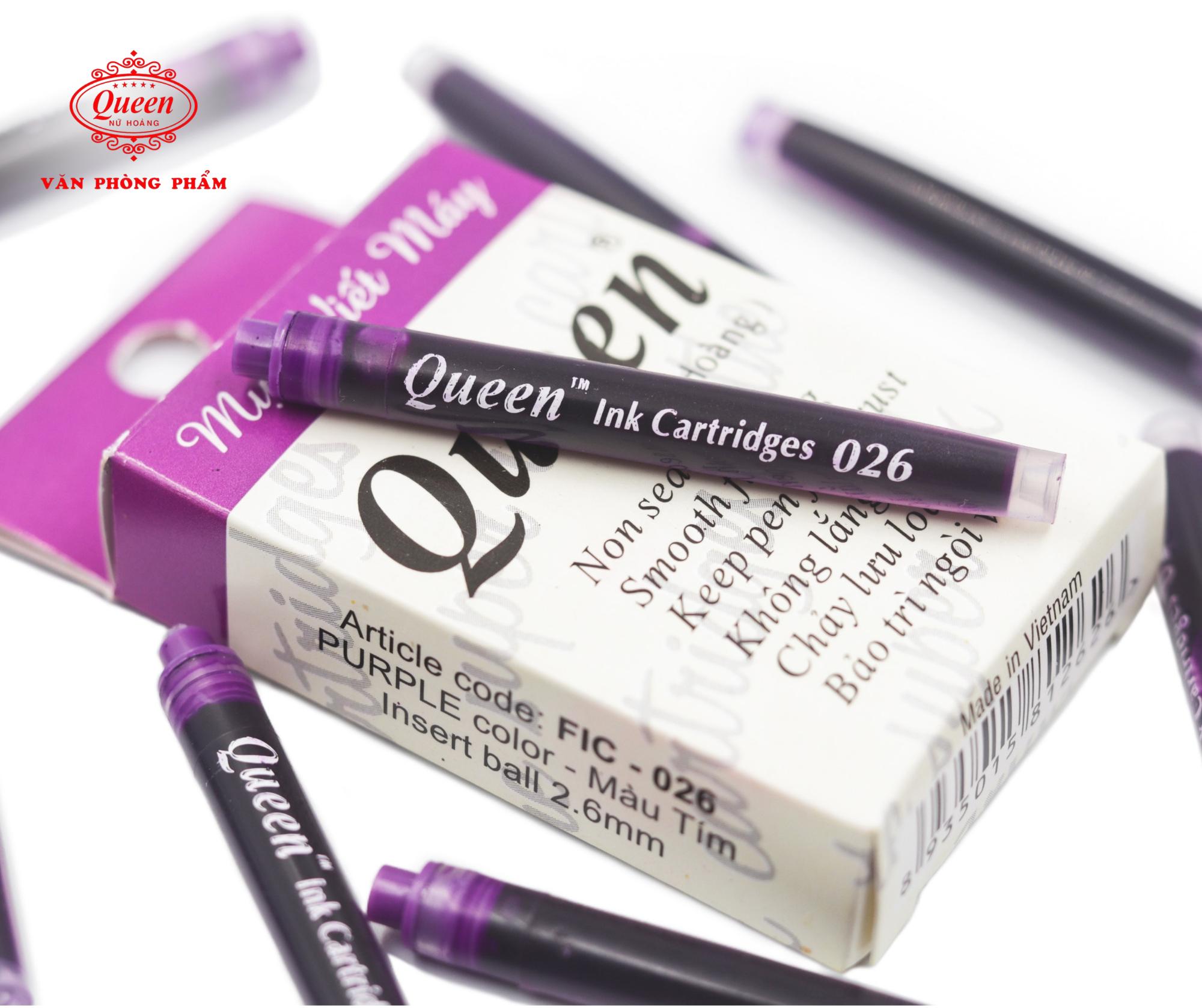 Ống mực viết máy Queen FIC026